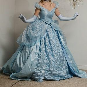 💖👑 Couture Cinderella Princess Ball Gown Dress